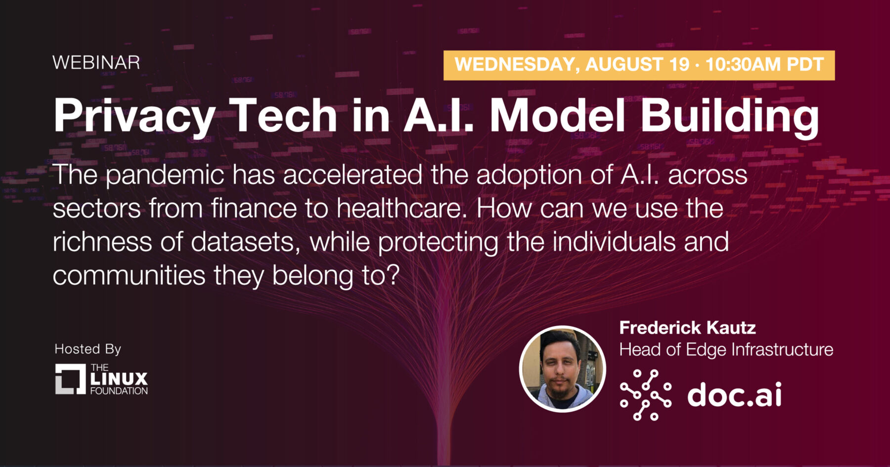 Webinar - Privacy Tech in A.I. Model Building