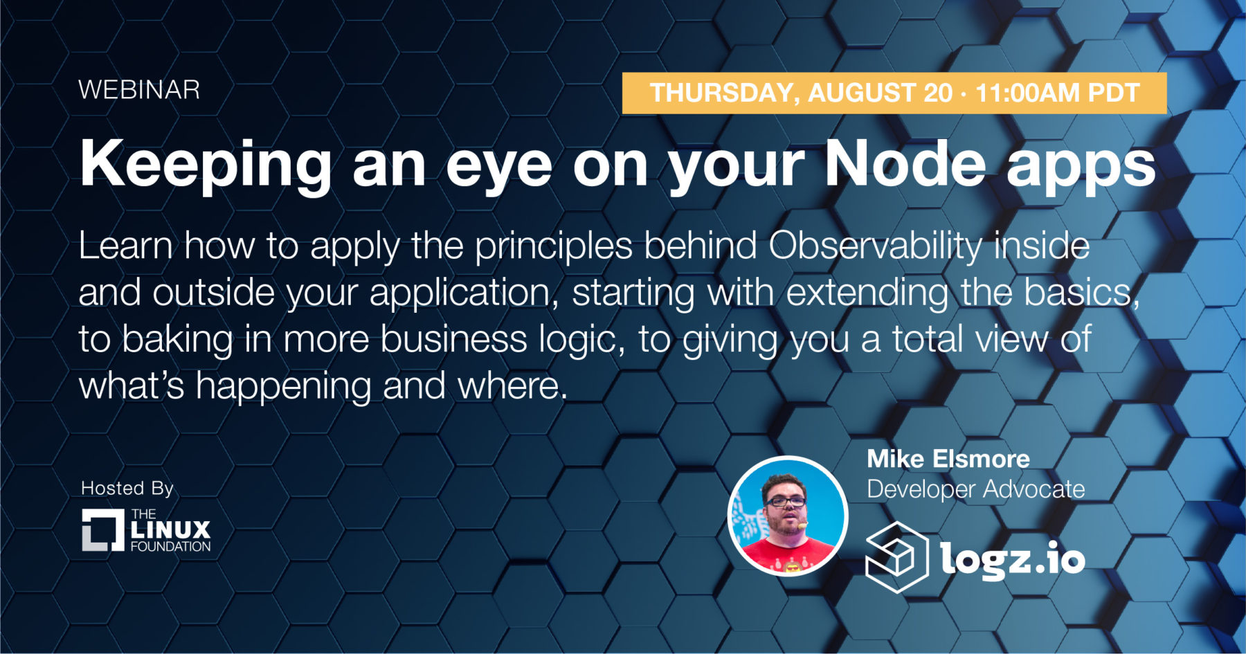 Webinar - Keeping an Eye on Your Node Apps