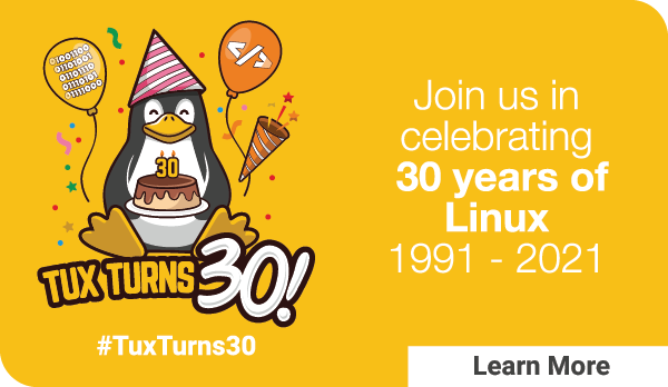 30TH ANNIVERARY OF LINUX