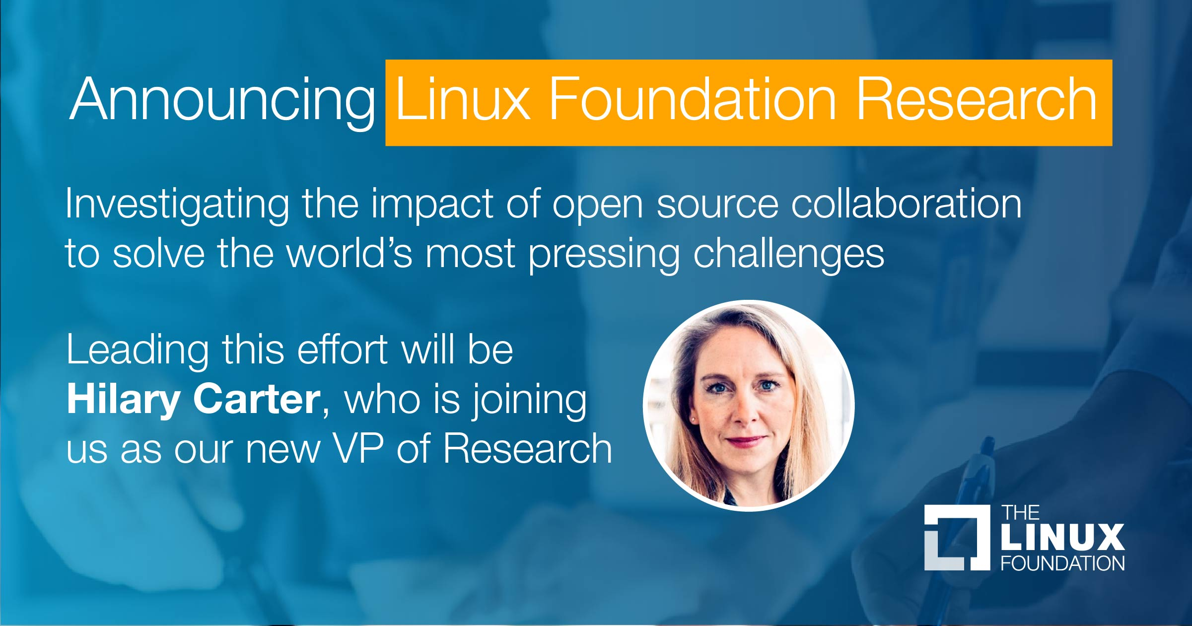 The Linux Foundation launches research division to explore open source ecosystems and impact - Linux Foundation